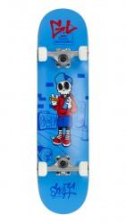 """Acheter Skate Enuff Skully 7.25""""x29.5"""" Blue/White"""