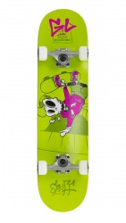 "Acheter Skate Enuff Skully 7.75""x31"" Green/White"