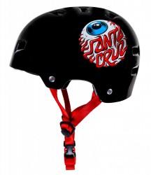Acheter Bullet x Santa Cruz Helmet Eyeball Noir Junior