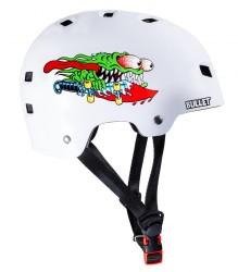 Acheter Casque Bullet x Santa Cruz Helmet Slasher Junior Blanc