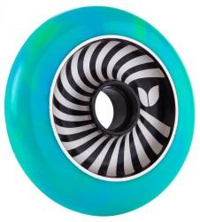 Acheter Roue Blazer Pro Vertigo Aluminium Swirl 100mm Green/Blue