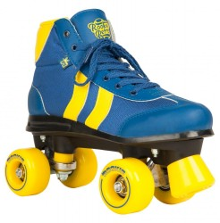 Acheter Roller Quad Rookie Retro V2 bleu et jaune