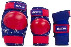 Acheter Pack de protections SFR bleu/rouge pour enfant