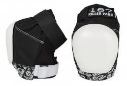 Acheter Genouilleres 187 killer pads PRO noir/blanc