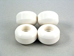 Acheter Roues Blank Wheels 54mm blanches x4