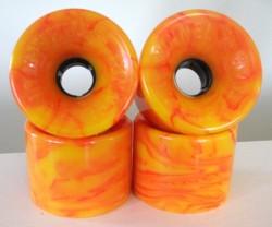 Acheter roues Tunnel Tarantula 70mm/78a STR racing orange swirl