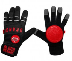 Acheter Gants de Slide Blood orange Knuckle black