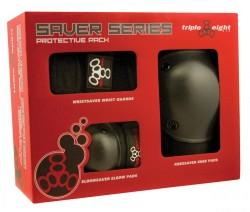 Acheter Pack de Protections Triple 8 Saver pads-vue-boîte
