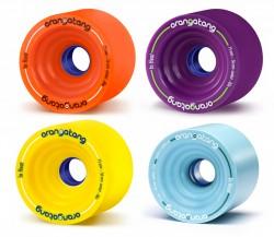 Acheter roue downhill Orangatang in heat 75mm