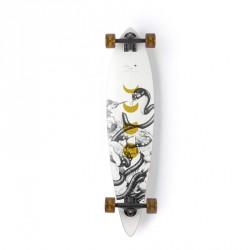 """Acheter Longboard Arbor Fish Bamboo 'Zoe Keller' 37"""" White"""