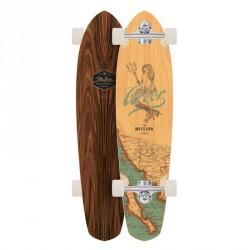 "Acheter Longboard Arbor Mission Groundswell Series 'Mermaid' 35"""