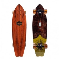 "Acheter Longboard Arbor Sizzler Groundswell Series 'Map' 31"" Wood/Black/Yellow"