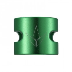 Acheter Double collier de serrage Blunt Twin Slit vert