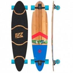 "Acheter Longboard DB Longboards 42"" Anthem Bamboo Green/Red/Blue"