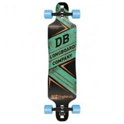 """Acheter Longboard DB Longboards Freeride DT 41"""" Green"""