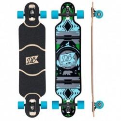 "Acheter Longboard DB Longboards Urban Native 38"" Green/Blue"
