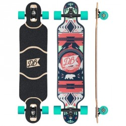"Acheter DB Longboards Urban Native 40"" Rouge"