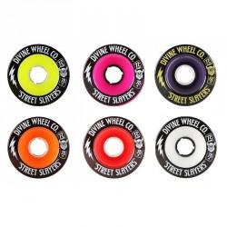 """Acheter Set de roues Divine Street Slayers """"Thunder"""" 72mm"""