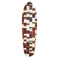 Acheter Deck Longboard Koastal Meat Loaf Deluxe 9'' Brown/White