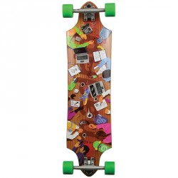Acheter Longboard Madrid Halberd Board Of Directions 36.75""
