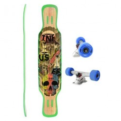 Acheter Longboard Moonshine MFG Infuser Natural 9'' Multi/Wood/Blue