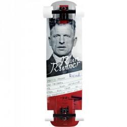 "Acheter Longboard Moonshine Rum Runner Convict 9.75"" Grey/Red"