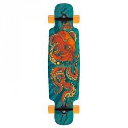 """Acheter Longboard Omen Octopoda 9.5"""" Blue/Orange"""
