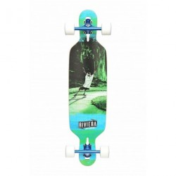 "Acheter Longboard Riviera Escape 9.5"" Blue/White"