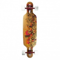"Acheter Longboard Riviera Fire Blossoms 9.5"" Multi/Wood/White"