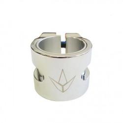 Acheter Double collier de serrage Blunt Twin chrome
