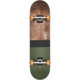 Skate Globe G2 Half Dip 2 - Dark Maple/Hunter Green 8.0