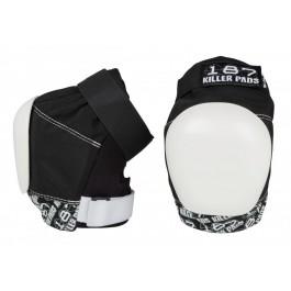 Genouilleres 187 killer pads PRO noir/blanc