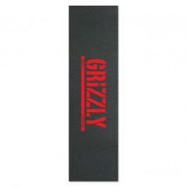 Grip Grizzly stamp print red