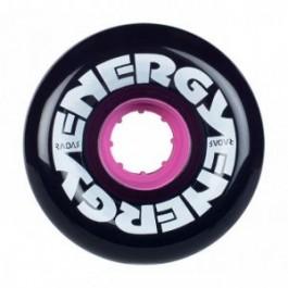 Roues Radar Energy 65mm 78a Noir