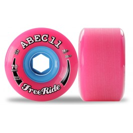 Set de roues Abec 11 freerides Stoneground 72mm 78a
