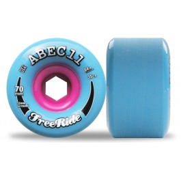 Set de roues Abec 11 freerides Stoneground 72mm 84a