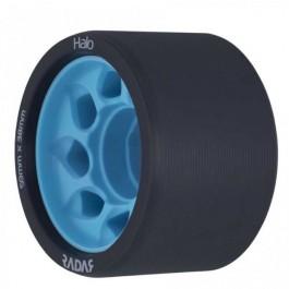 Roues Radar Halo 59mm/95a noires/bleu X4