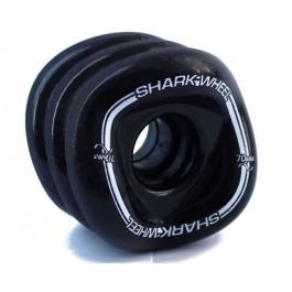 Roues Shark Wheel Mako Formula 70mm 80a noires