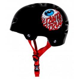 Bullet x Santa Cruz Helmet Eyeball Noir Junior
