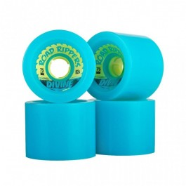 Roues Divine Road Rippers 75mm bleu