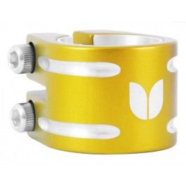 Double collier de serrage Blazer or
