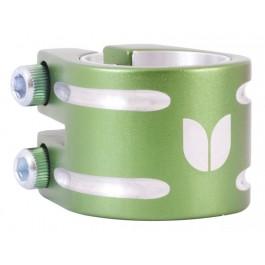 Double collier de serrage Blazer vert