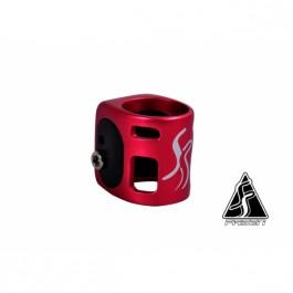 Double collier de serrage Fasen rouge