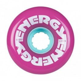 Roues Radar Energy 62mm 78a Violettes