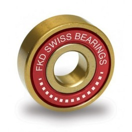 Roulements FKD Swiss Bearings Gold Gold/Red