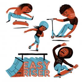 Stickers EasyRiser Edition Limitée (Offre limitée à un pack par commande)