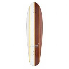Deck Longboard Koastal Two Face 9.5'' Wood/White