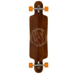 Longboard Lush Freebyrd Wood 9.75'' Wood/Orange