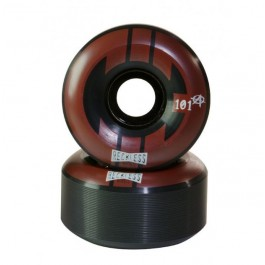 Roues GRN NMSTR rampe 58mm/101a black/red X4