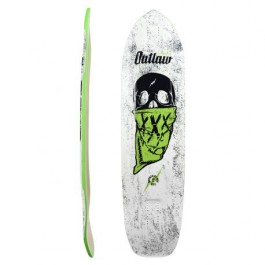Deck Moonshine MFG Outlaw 9.75'' White/Green